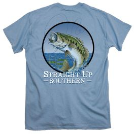Straight Up Southern Jumping Bass T-Shirt