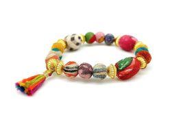 Anju Aasha Stacking Tassel Bracelet - Multi