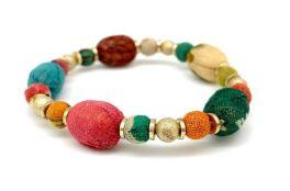 Anju Aasha Stacking Bracelet - Orange