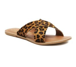High Hopes Sandals - Tan Leopard