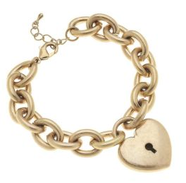 My Heart Bracelet - Gold