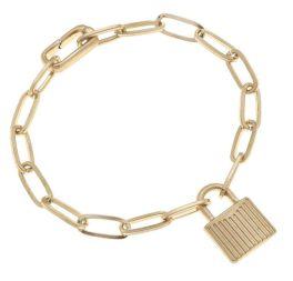 Finding Love Bracelet - Gold