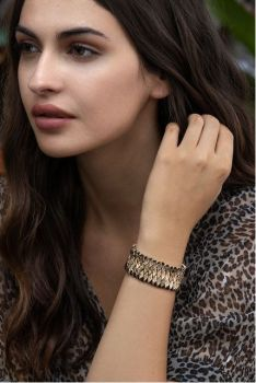 Myra Nest Bracelet - Copper
