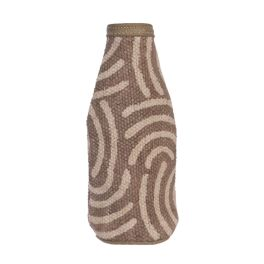 Grey Maze Bottle Koozie