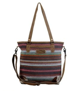 Myra Braided Shoulder Bag - Multi