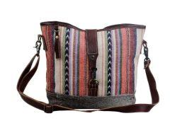 Myra Multicolored Shoulder Bag - Multi