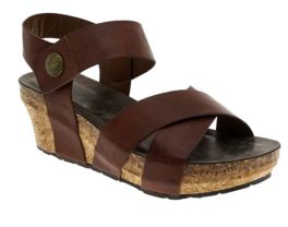 Walking My Way Wedge Sandals - Whiskey