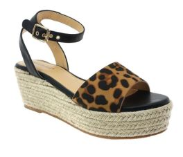 Sense Of Style Wedge Sandal - Leopard