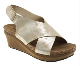 Shake It Off Wedge Sandal - Gold
