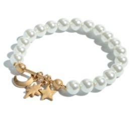Pearl Of Wisdom Bracelet - Gold