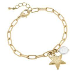Dreaming Of The Stars Bracelet - Gold