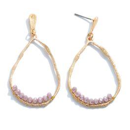 Hooked On A Feeling Earrings - Lavender