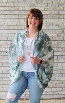 Big Dreams Kimono - Green
