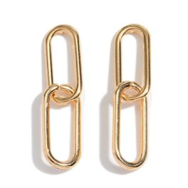 Stay Golden Earrings - Gold