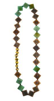 Omala Chain Necklace - Green