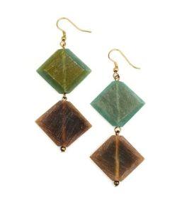 Anju Hemlata Earrings - Green