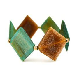 Omala Stretch Bracelet - Green