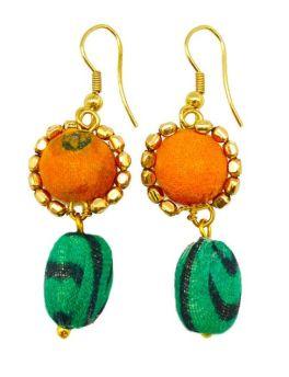 Aasha Drop Earrings - Multi