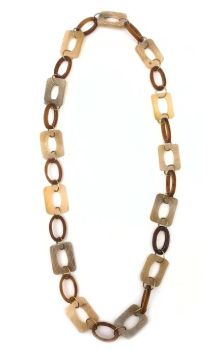 Omala Collection Necklace - Brown