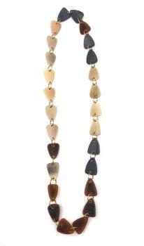 Anju Omala Chain Necklace - Brown