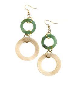 Ishika Earrings - Green