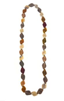 Omala Chain Necklace - Brown