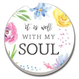 Well With My Soul Car Coaster