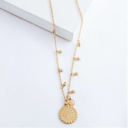 Chasing The Thrill Necklace - Worn Gold