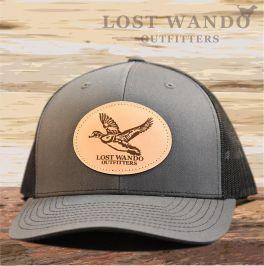 Wood Duck Hat - Charcoal & Black