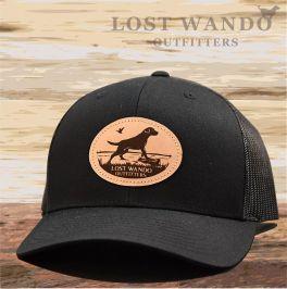 Marsh Lab Hat - Black & Black