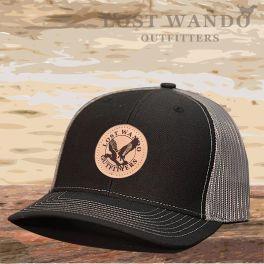 Mallard Hat - Black & Charcoal