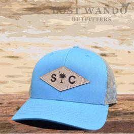 SC Diamond Hat - Columbia Blue & Khaki