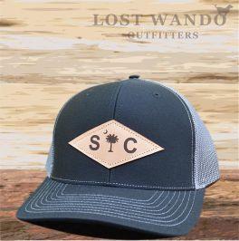 SC Diamond Hat - Black & Charcoal