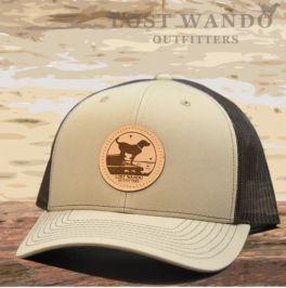 Wando Ready To Go Hat - Khaki & Brown