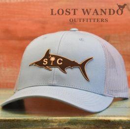 SC Marlin Hat - Smoke Blue & Aluminum
