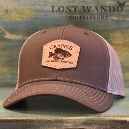 Crappie Hat - Brown & Khaki