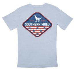 Southern Fried Cotton American Patch T-Shirt