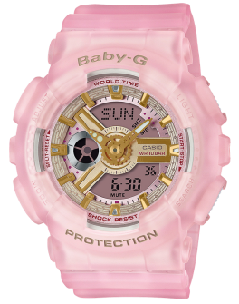 Baby-G Pink Semi Transparent Watch