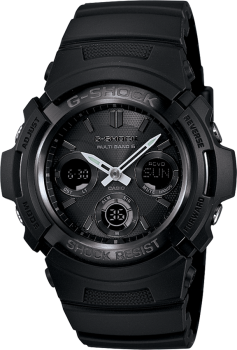 Men's Black Resin G-Shock Watch