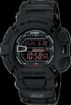 Men's Black Digital G-Shock Watch