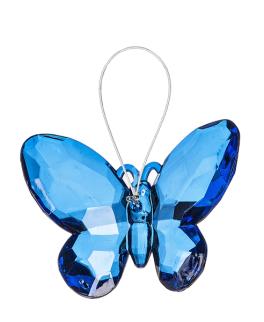 Small Butterfly Ornament - Dark Blue