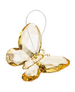 Small Butterfly Ornament - Yellow