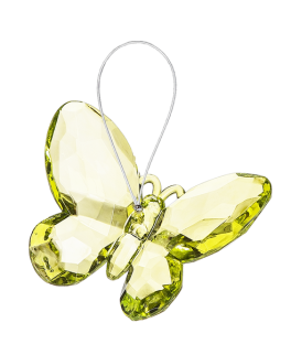 Small Butterfly Ornament - Green