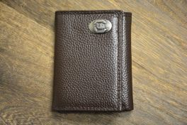 Brown Trifold USC Wallet