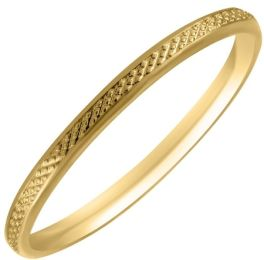10KT 2.5 Yellow Gold Baby Ring