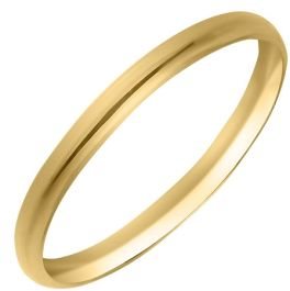 10KT .5 Yellow Gold Baby Band