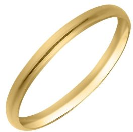 10KT Yellow Gold Childs Band