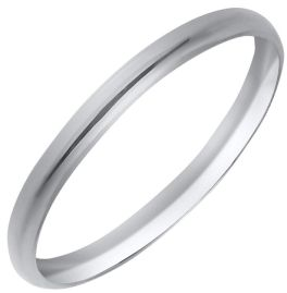 Sterling Silver .5 Childs Polished Band