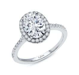 Lafonn Oval Engagement Ring - Size 7