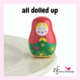 Nora Fleming All Dolled Up Mini